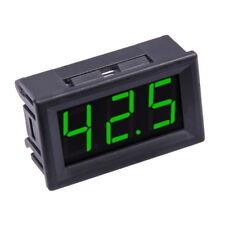 0-100V Voltmetro Digitale Verde LED Display Pannello Misura Tensione DC 3-Cavi