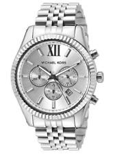 Michael Kors Lexington MK8405 Chronograph Silverdial Stainless Steel Men's Watch