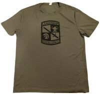 Men's Official Army National Guard  Dri Fit T-Shirt Size Medium M