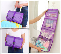 Quality Extra Large Travel Organiser Hanging Toiletry Bag Cosmetic Makeup Bag