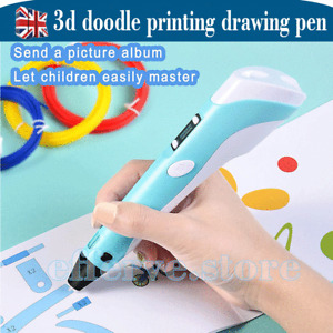 3D Drawing Printing Pen with LCD Screen+ PLA ABS Filament toys with USB Cable