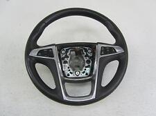 11 BUICK REGAL Black Leather Silver Driver Steering Wheel Radio Cruise Buttons
