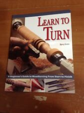 Learn To Turn By Barry Gross Woodturning Book VGC