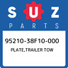 95210-38F10-000 Suzuki Plate,trailer tow 9521038F10000, New Genuine OEM Part