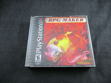 RPG Maker (Sony PlayStation 1, 2000) *In Case - Tested - VG*