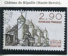 TIMBRE FRANCE OBLITERE N° 2232 CHATEAU DE RIPAILLE   / Photo non contractuelle