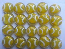 GLASS GEMS HP PARTY FAVORS  birthday  mini art tennis balls ball