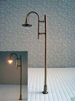 S799 - 10 Stück LED Straßenlampen 1-flammig 8cm 12-19V Set Bogenleuchten