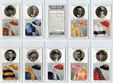 (Lv029-314) Ogden's, Trainers And Owners' Colours,  1925, Used VG