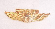 USMC US Army Vietnam Recon Parachute Jump Wings Airborne Gold Pin Badge Insignia