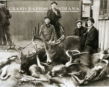 Vintage Deer Hunting Monster Bucks Sixteen Point Buck Pellston MI MUST SEE
