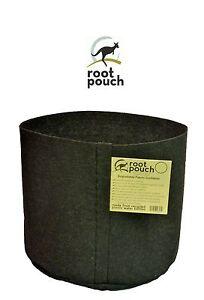 Root Pouch noir (4L - 1 gallon) Géotextile Smart grow Pot déco container