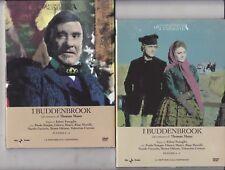 2 Dvd Sceneggiati Rai I BUDDENBROOK di E.Fenoglio con Paolo Stoppa completa 1971