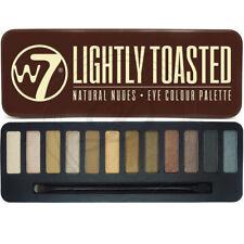 W7 Eyeshadow Palette leggermente tostate-Shimmer Opaco Bronzo Dorato Misto Occhi