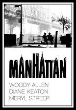 Manhattan FRIDGE MAGNET 11x16 Woody Allen Magnetic Movies Poster Canvas Print