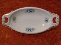 Antiguo Porcelana Prunk Cuenco - Carl Tielsch Altwasser Silesia - Um 1910