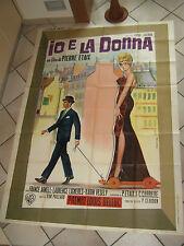 manifesto,1963 IO E LA DONNA,PIERRE ETAIX,ARNELL,VESELY,LE SOUPIRANT,GASPARRI