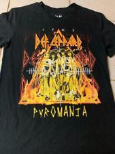 Repo Def Leppard Pyromania 1983 Small T-Shirt Nwobhm Classic Hard Rock Metal