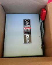 GE Heavy Duty Safety Switch THN3361, 30 Amp 600V (New In Box), UPC 783164011302