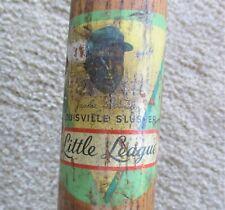 Jackie Robinson 1950's Decal LL baseball bat