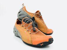 Puma Orange Gray Running Shoes Mens Size 8