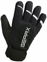 Gearx Cycle Gloves Waterproof Thermal Reflective Mountain Bike Mittens