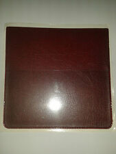 PARKING PERMIT HOLDER IN BURGUNDY LEATHER LOOK PVC + EXTRA POCK FOR CARD