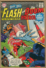 Brave and the Bold #65 - Flash/Doom Patrol App! -1965 (Grade 7.0)Wh