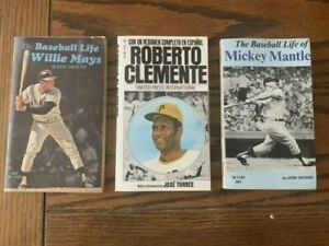 Roberto Clemente Jose Torres 1973 Mickey Mantle, Willie Mays PB VG