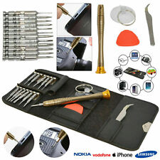 Mobile Phone 16 in 1 Repair Tool Kit Screwdriver Set iPhone iPod iPad Samsung UK