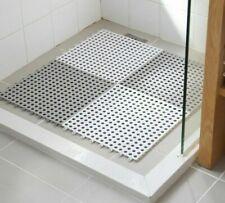 Non-Slip Bathroom Mat Carpet Toilet Shower Square PVC Rug Eco-Friendly Floor Pad
