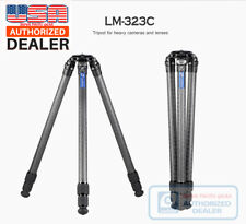 【Leofoto USA Dealer】 Leofoto LM-323C Tripod with Video Bowl and Case /Gitzo/RRS