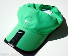 NEW! Green NIKE YOUTH Unisex Golf Cap DRI-FIT Tennis Hat Featherlight