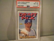 1994 Topps Traded Paul Konerko #112T, PSA NM-MT 8