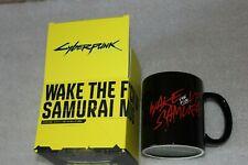 CYBERPUNK 2077  PROMO Wake the F*ck Up Samurai mug  GADGETS GAMESCOM