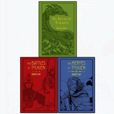 David Day Collection 3 Books Set The Battles of Tolkien, An Atlas of Tolkien NEW