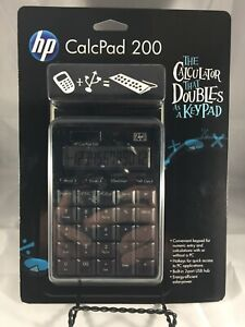 HP CalcPad 200 - The Calculator That Doubles As A Keypad - New In Package