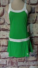 WOMEN'S BOAST GREEN SIDE PLEATED TENNIS DRESS SIZE L NWT POT LEAF FREE SHIP