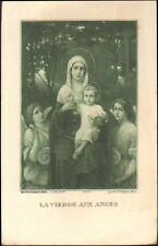 IMAGE RELIGIEUSE MARGUERITE & LOUISE AUGER BOURGES 1915