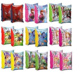 Swimming Armbands Spiderman - Paw Patrol - Disney Frozen Princess Minnie Mouse