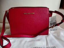 BNWT Michael Kors Red Selma Medium Messenger Crossbody bag Rrp £220