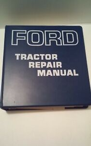 65' to '74  Ford Tractor Repair Manual 2000 3000 4000 5000 Identification Specs