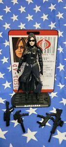 G.I. JOE Baroness v14 Rise of Cobra 25th Anniversary Scale Loose GI Modern