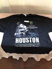 Monster Energy AMA Supercross FIM World Championship Houston T-shirt Adult 2XL