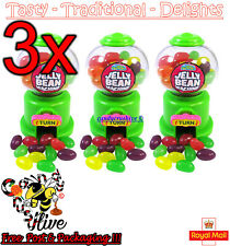 Crazy Candy Factory Mini JELLY BEAN MACHINE Assorted Fruit Flavour Jelly Beans