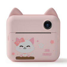Instant Quick Fast Printing Kids Camera Digital HD Wifi Camcorder Cam For Girl