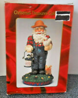 "Christmas Treasures Collection Happy Farm 7"" Musical Figurine New"