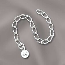 Sterling Silver Necklace Extender 3-inch 925 5mm Ball Chain Extension Adjustable