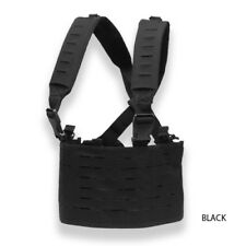 Condor 201047 LCS Ops Chest Rig MOLLE Black Laser Cut Tactical Vest Lightweight