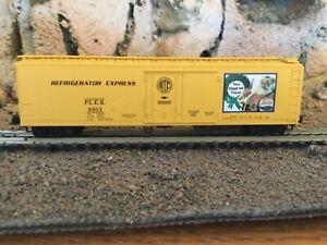 N Scale Micro trains 51' mech reefer PCEX REFRIGERATOR EXPRESS PEPSI NIB